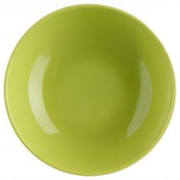Assiette creuse D 21 cm Colorama vert