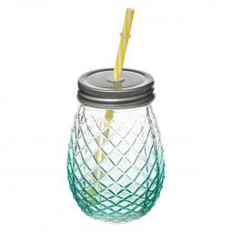 Chope à limonade en forme d'ananas