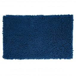 Tapis de bain maxi chenille marine 50x80