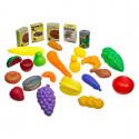 Baril fruits et légumes 36 pièces