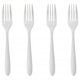 Lot de 4 fourchettes inox nevis