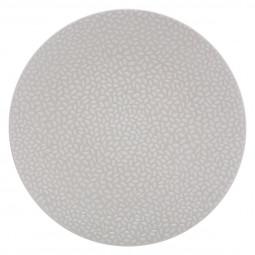 Assiette plate pétale blanc 27cm