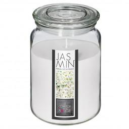 Bougie verre parfumée jasmin 510G