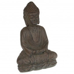 Statue bouddha en pierre