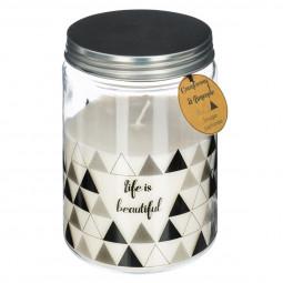 Bougie verre parfumée cranberry 410G