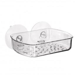 Porte savon à ventouses décor galet