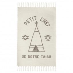 Tapis tribu à franges