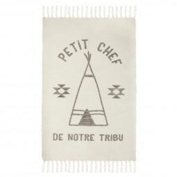 Tapis tribu à franges