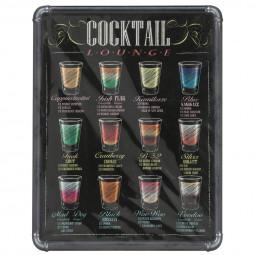 Sticker relief cocktails