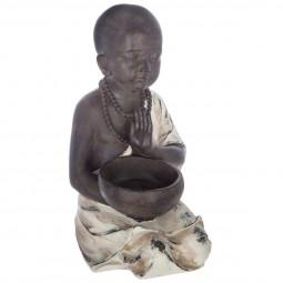 Bouddha assis en résine H34