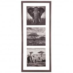 Cadre décoratif Animaux sauvages 61 x 25 cm
