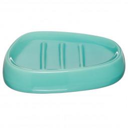 Porte savon turquoise Silk