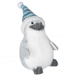 Décoration de Noël Pingouin de Madagascar H 14 cm Noël et compagnie