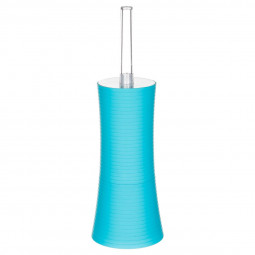Brosse wc stripe turquoise
