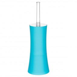Brosse wc stripe turquoise