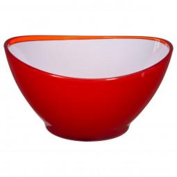 Saladier wave rouge 13.5cm