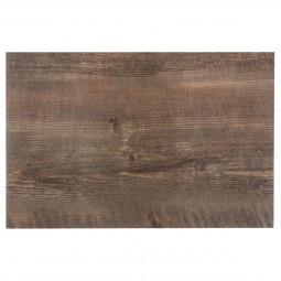 Set de table décor aspect en chêne