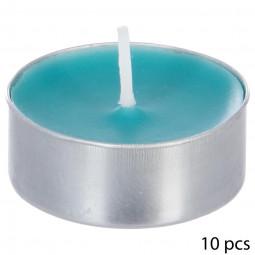 Lot de 10 bougies parfumées coco