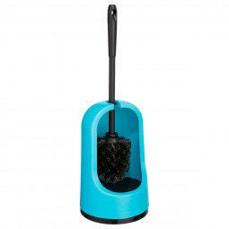 Brosse WC turquoise