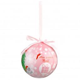 Décoration de sapin Kit 2 Boules de Noël décorées D 7.5 cm collection Dis Maman