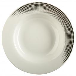 Assiette creuse silver D 22 cm