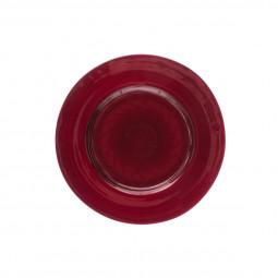 Assiette à dessert Jem rouge D 21 cm