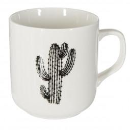 Mug décor cactus