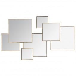 Miroir multi carré Lila 61X37