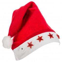 Bonnet de Noël Lumineux étoiles LED pour Adulte taille unique Les incontournables