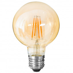 Ampoule LED globe ambre G95 2W