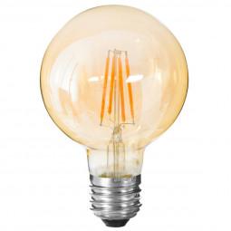 Ampoule LED globe ambre G95 4W
