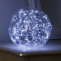 Guirlande lumineuse d'intérieur Copper 40 LED Blanc froid sur 3.90 mètres