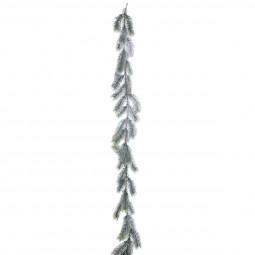 Guirlande de Noël Branches de sapin vert floqué L 190 cm Les incontournables