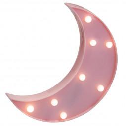 Déco lumineuse Lune 8 LED