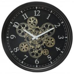 Pendule mécanique métal luxe et originale D37