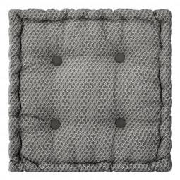 Coussin de sol otto gris 40 x 40 cm