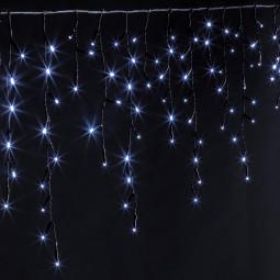 Guirlande lumineuse d'extérieur programmable  Rideau de façade 240 LED Blanc froid