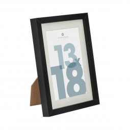 Cadre photo noir 13 x 18 cm manu