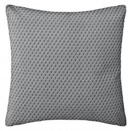 Coussin motif otto gris 38x38