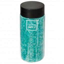 Pépite de verre bleu turquoise 580 g
