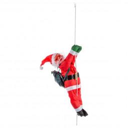 Décoration Père Noël grimpeur avec sa corde H 60 cm Les incontournables