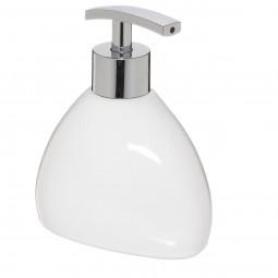 Distributeur à savon blanc Silk