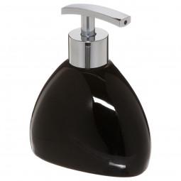 Distributeur à savon noir Silk
