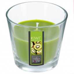 Bougie en pot parfumée kiwi nina 135g
