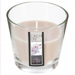 Bougie en pot parfumée orchidée nina 135g
