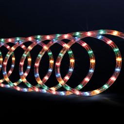 Guirlande Lumineuse Intérieure et Extérieure 10 m Tube LED Multicolore et 8 jeux de lumière