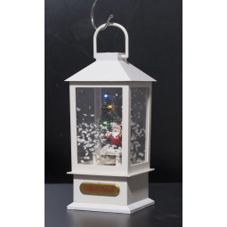 Décoration Intérieur de Noël Lanterne lumineuse à LED H 20 cm