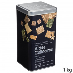Boîte à aides culinaires relief