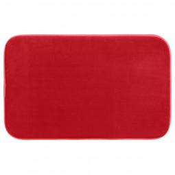 Tapis de bain mémoire de forme coquelicot 50X80