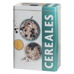 Boîte céréales relief